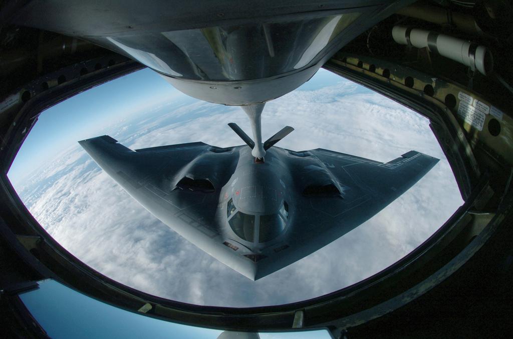 Der von Northrop Grumman entwickelte B-2 ist der modernste Bomber der USA. Quelle: Keystone