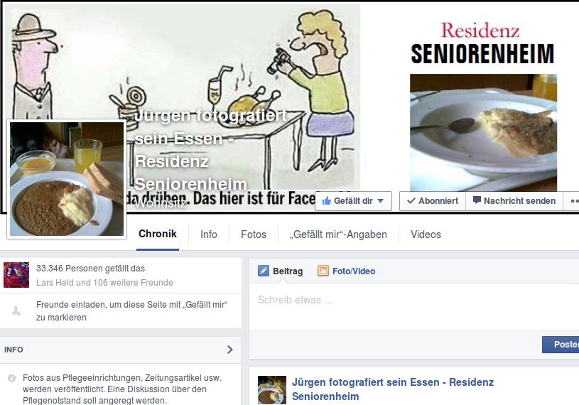 Mit einer Facebook-Seite sorgte ein Frührentner aus Bayern für Furore.
