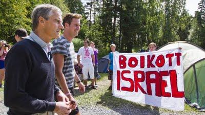 Breivik erschoss auf dem sozialdemokratischen Jugendlager in Utoya über 80 Jugendliche. Eines der Hauptthemen des Jugendcamps war die israelische Besatzung in Palästina.