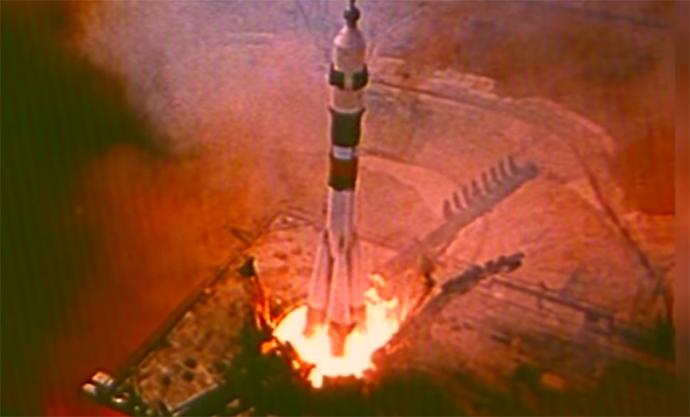 Screenshot aus einem Youtube-Video der NASA
