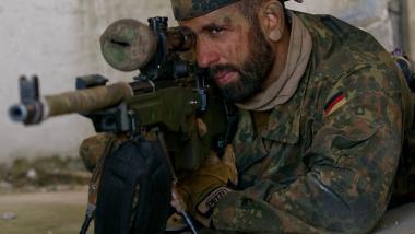 Scharfschütze des Jäger-Bataillons 292 während der NATO-Übung Saber Strike in Litauen - Quelle: US Army Europa