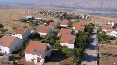 Jüdische Siedlung Chemdat im Jordantal. Quelle: NumberOne, GNU
