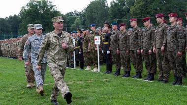Russland: NATO-Großmanöver in der Ukraine bedroht Friedensprozess und sendet falsches Signal an Kiew