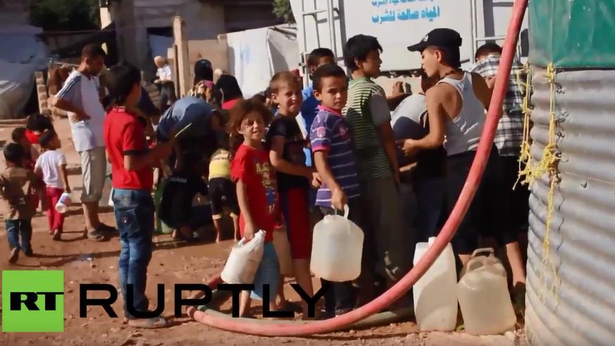 Syrien: Wochen ohne Trinkwasser - Nun liefert UNICEF das lebenswichtige Gut
