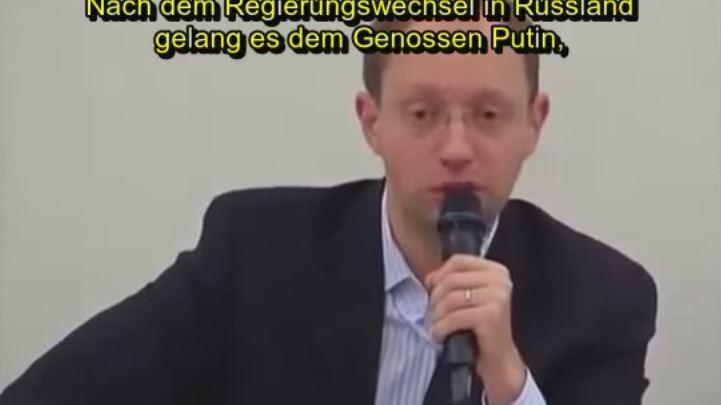 Jazenjuk 2012: Genosse Putin als Retter Russlands und mein Vorbild im Kampf gegen Oligarchen