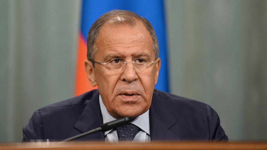 """""""Putin will ganz Europa"""" - Lawrow kritisiert anti-russische Rhetorik des ukrainischen Präsidenten"""