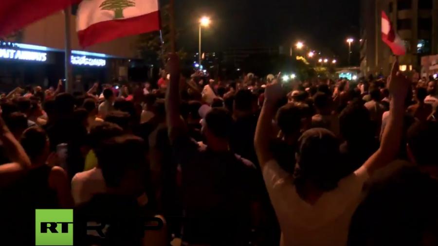 Live: Anti-Regierungs-Protest in Beirut wegen anhaltender Müllkrise