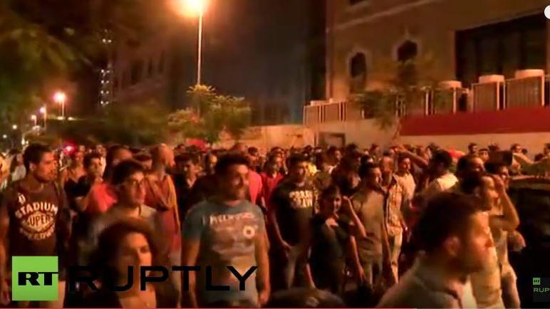 Live: Fünfte Protestnacht in den Straßen von Beirut