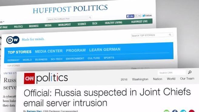 Der Russe wars - Ganz ohne Beweise gibt das Pentagon Russland Schuld an neuem Hacker-Angriff