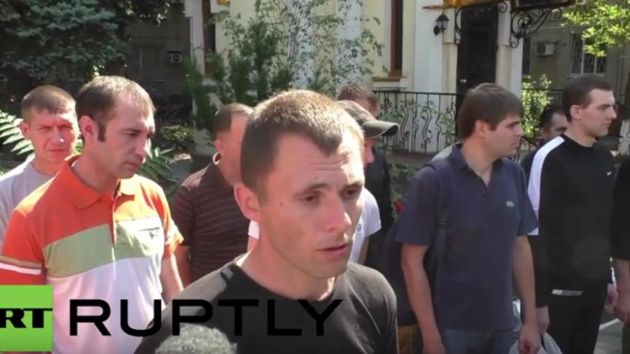 Ukraine: Gefangenenaustausch - Gefangener Soldat will nicht zurück auf Kiews Seiten