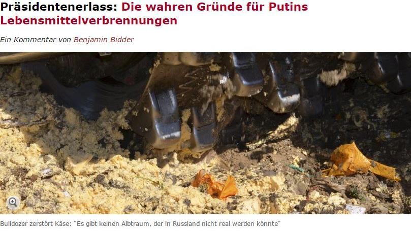 Der Spiegel, Benjamin Bidder und das Sommerloch: Zum Glück gibt es Putin und Russland