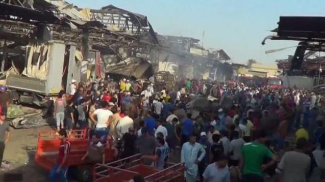 """""""Marktplatz mit Blut überflutet"""" - Dutzende Tote bei IS-Terroranschlag in Bagdad"""
