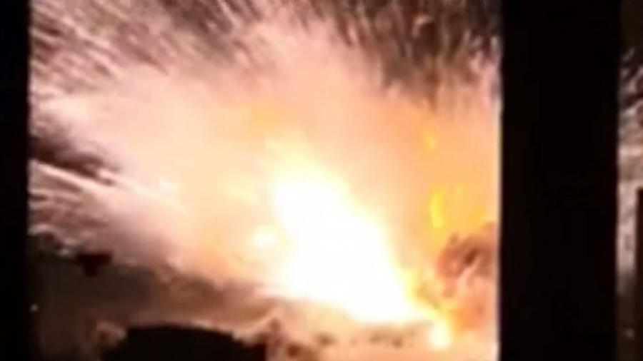 Feuer-Inferno in China - Hunderte Verletzte nach Explosion