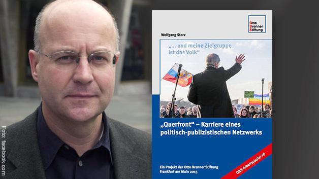 """Wolfgang Storz und sein Querfront-""""Werk"""". Bildquelle: facebook.com via meedia.de"""