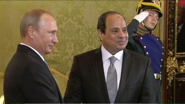 Putin: Ägypten unterstützt gemeinsame Anti-IS-Koaltition unter Einbindung der Assad-Regierung