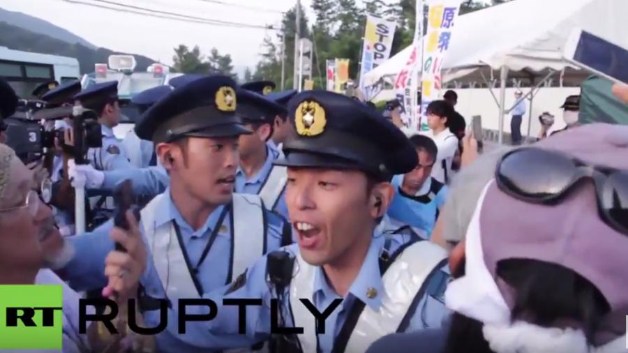 Zusammenstöße in Japan bei Protest - Reaktor trotzdem seit heute wieder in Betrieb