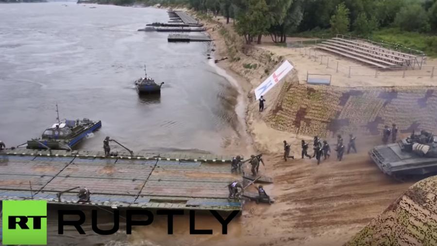 Russland: Zusammenschnitt der besten Momente bei den internationalen Armeespielen 2015