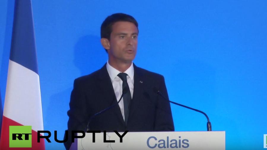 Live: Pressekonferenz nach Besuch von EU-Vertretern in Calais