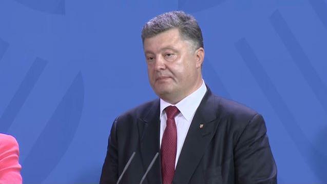 Poroschenko: Neurussland tolkienscher Mythos namens Mordor, Reich des Bösen