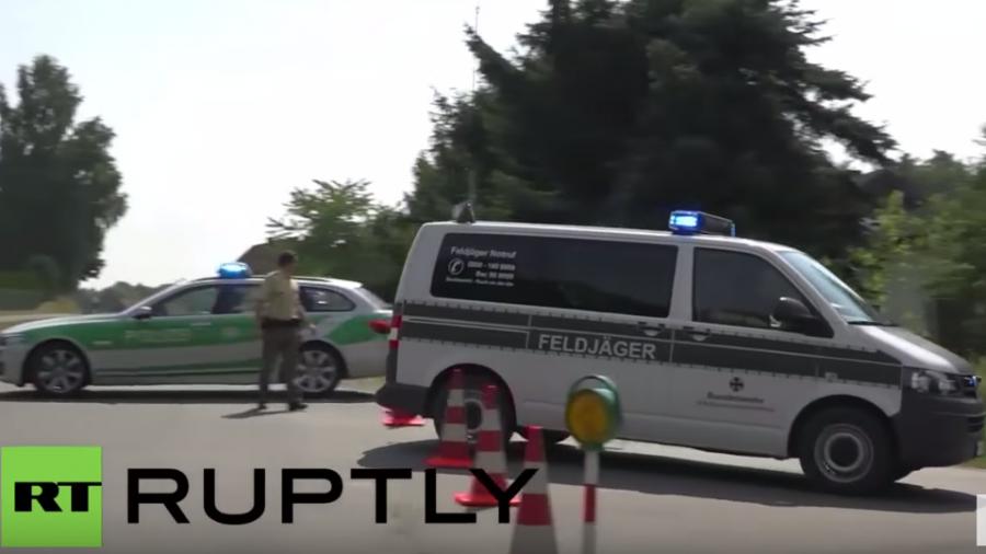Bayern: US-Kampfjet abgestürzt - Pilot warf zuvor sechs Übungsbomben ab