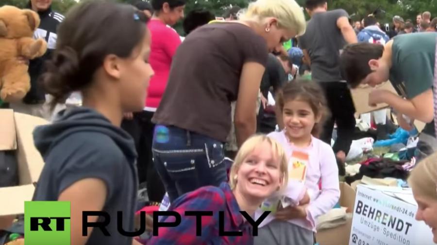 Willkommensfest für Flüchtlinge in Heidenau ein voller Erfolg