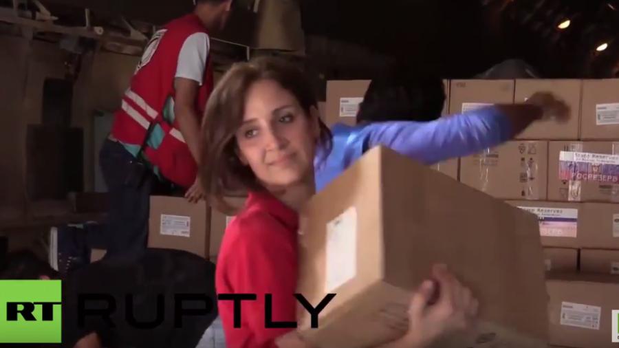 Syrien: Russland entsendet humanitäre Hilfe und evakuiert Bürger verschiedener Nationen