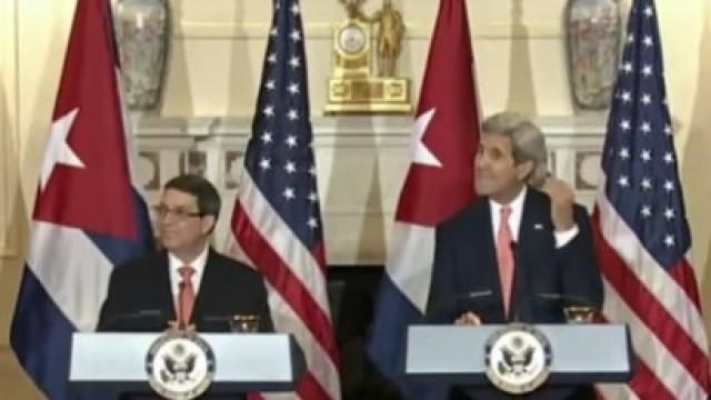 Live: Erster US-Außenminister-Besuch seit 1945 - Kerry in Kuba zur Wiedereröffnung der US-Botschaft