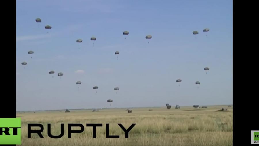 """NATO: """"Wir sind ein Messer und wir schärfen es"""" – Größte Luftlandeübung seit Ende des Kalten Krieges"""
