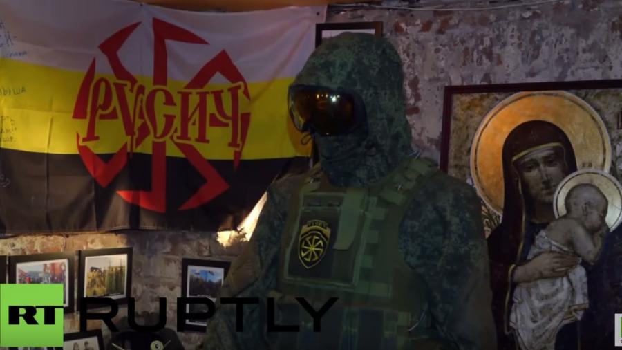 """Russland: Artefakte des Ukraine-Konflikts im Museum """"Novorussia"""" ausgestellt"""