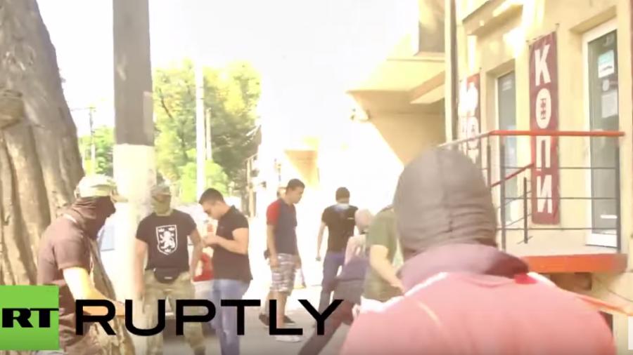 Ukraine: Maskierte stürmen LGBT-Veranstaltung in Odessa