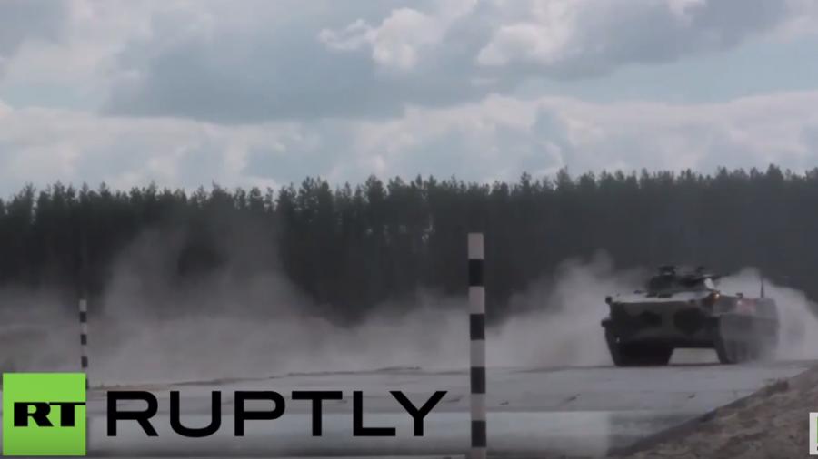 Internationale Armeespiele in Russland: Zusammenschnitt der jüngsten Manöver
