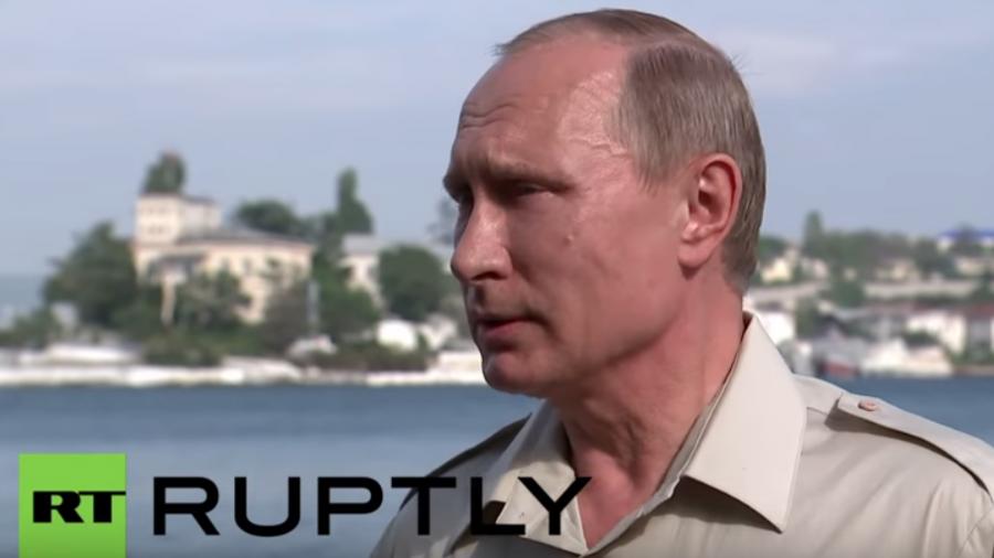Putin zur Eskalation im Donbass: Die Gegenseite trägt die Schuld dafür, nicht die Milizen