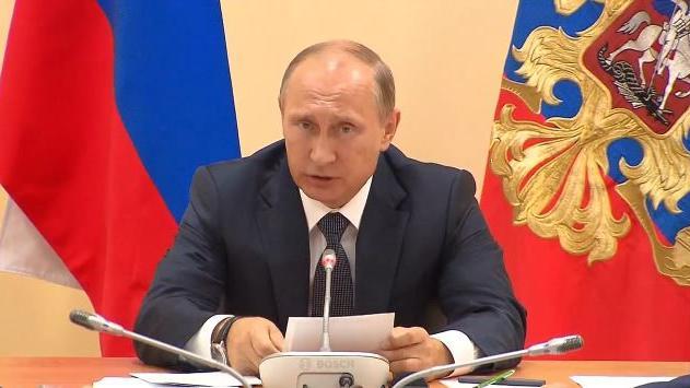 """Putin warnt vor Destabilisierungsversuchen auf der Krim durch """"ausländische Kräfte"""""""