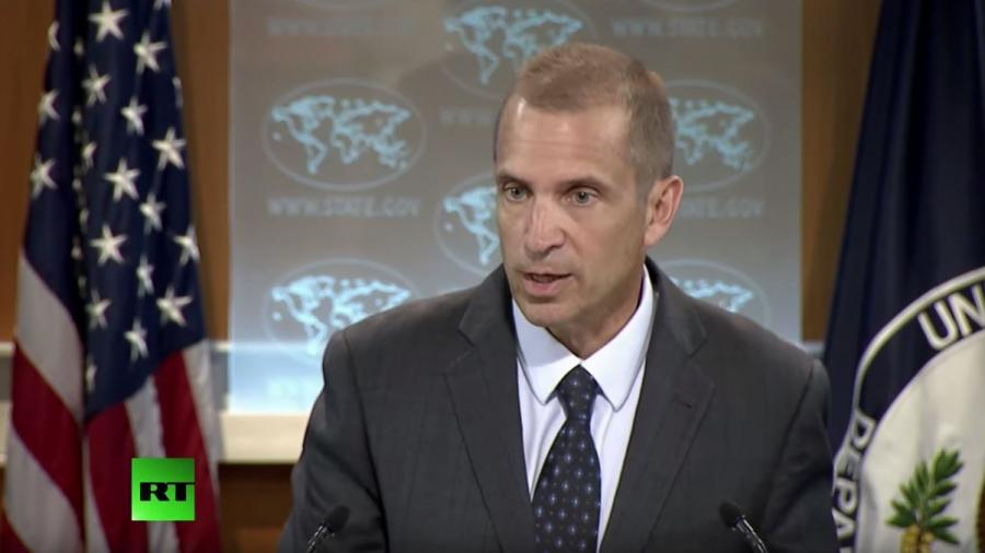 """US-Außenministerium zu RT: """"Wir wissen nicht auf welcher Rechtsbasis US-Luftangriffe gegen Syrien erfolgen"""""""
