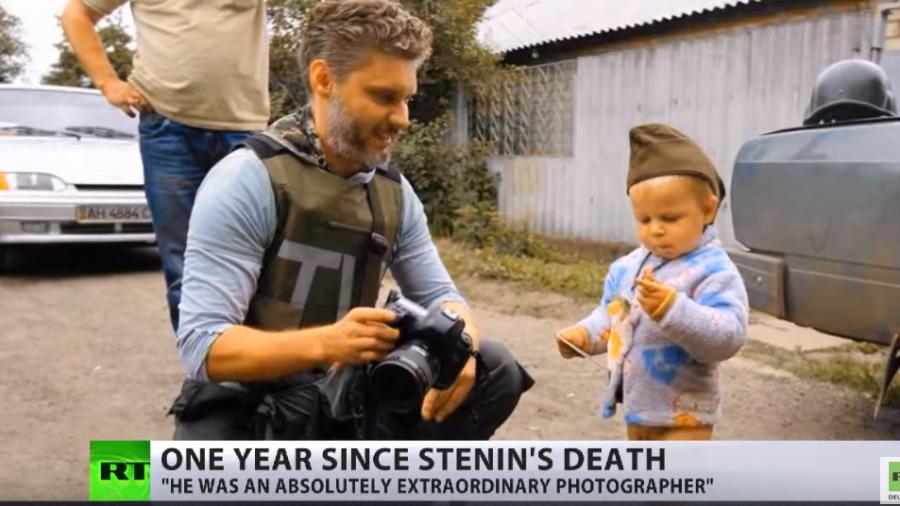 Ein Jahr danach - Eine Erinnerung an den gefallenen Journalisten Andrei Stenin