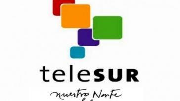 """Das Motto von Telesur war von Beginn an: """"Nuestro Norte es el Sur"""" (Unser Norden ist der Süden). Ein Wortspiel: """"Norte"""", der Norden, steht im Spanischen auch für Ziel oder Orientierung QUELLE: RADIOHC.CU"""