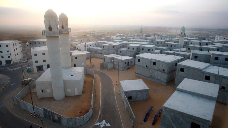 Hier darf sich Bald die Bundeswehr austoben - Urban Warfare Training Center in Tze'elim in der Negev Wüste - Quelle: idfblog.com