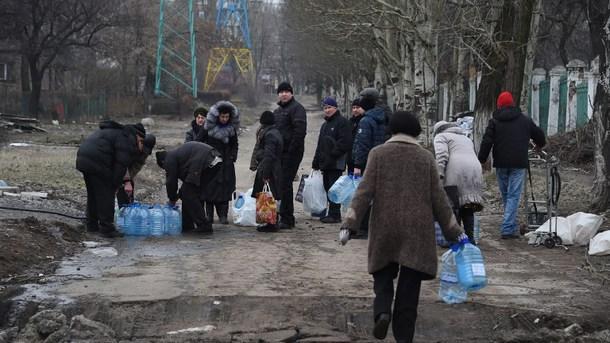 """""""Wasserentzug als Kriegswaffe"""" - Akute Trinkwassernot in der Ost-Ukraine"""