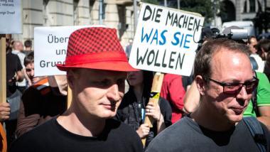 Sehen sich weiterhin Vorwürfen des Landesverrates ausgesetzt: Markus Beckedahl und Andre Meister, die Betreiber von netzpolitik.org. Foto: sebaso / Flickr