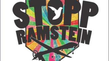 Die Kampagnengrafik von http://www.ramstein-kampagne.eu/