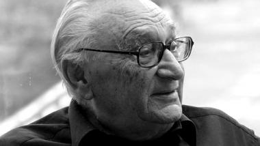 Egon Bahr im Jahre 2005. Quelle: Holger Noß / CC BY-SA 2.5