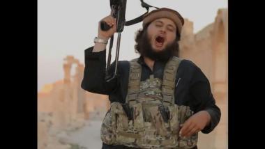 Quelle: Screenshot aus IS-Propagandavideo