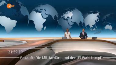 Im Vorspann der ZDF-Sendung ist der Hinweis auf den später zensierten Beitrag noch zu sehen. Screenshot by propagandaschau.wordpress.com