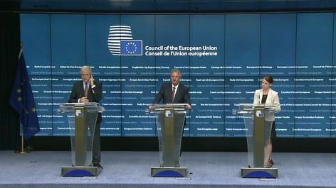 LIVE: Sondertreffen EU Justiz- und Innenminister zur Flüchtlingskrise - Pressekonferenz