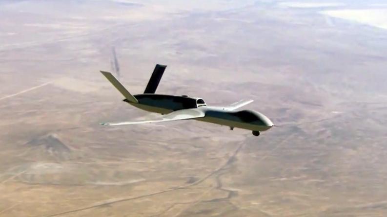 "Eine GA-ASI Predator C ""Avenger"" UAV © Jeff Head / YouTube"