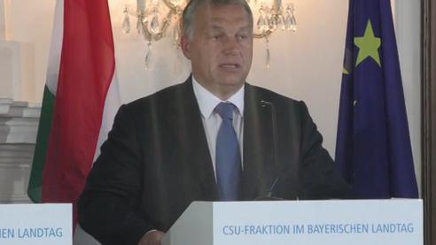 """""""Ich bin Bayerns Grenzschützer"""" – Viktor Orban"""