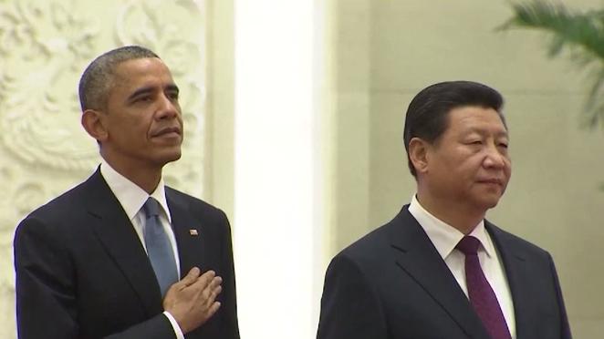 Erster Besuch des chinesischen Präsidenten in den USA