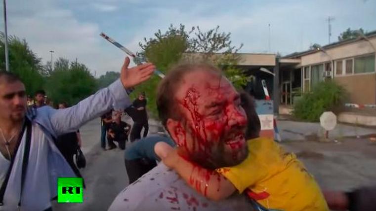 Blut, Tränen und traumatisierte Kinder: Dramatische Szenen nach Tränengas-Einsatz der Polizei an Ungarns Grenze