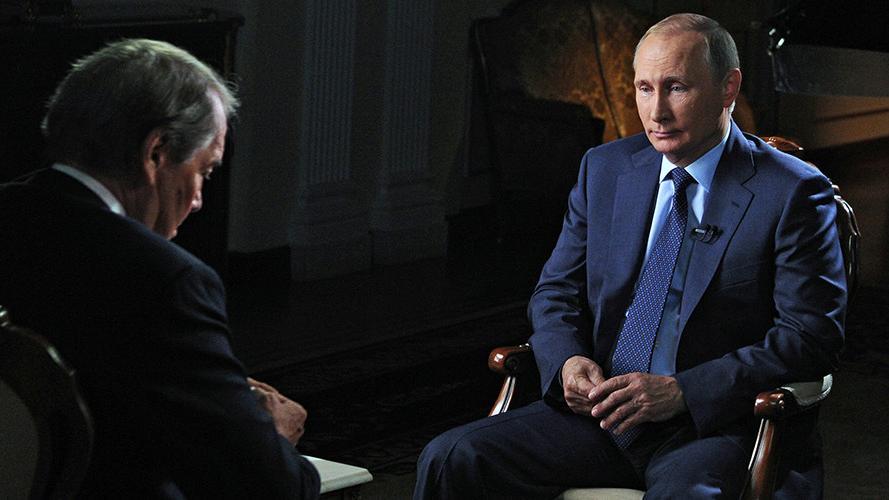 """Putin im Interview: """"Bei uns gibt es keine Obsession, dass Russland eine Supermacht sein muss"""""""