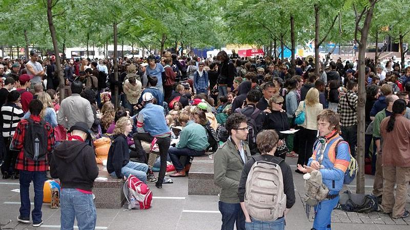 Vor genau vier Jahren: Occupy Wallstreet wurde geboren